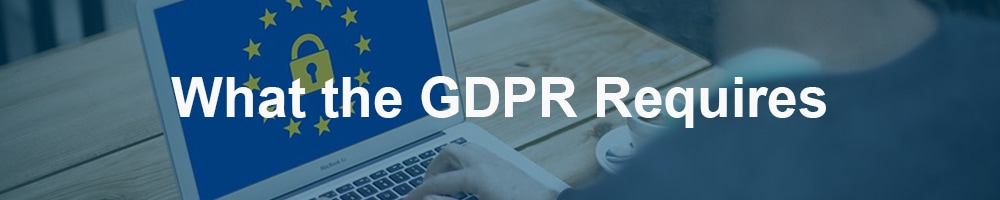 What the GDPR Requires